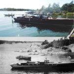 Loris på Ivars skärgårdsö Ängsholmen 1924 och 2019