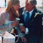 Björn Borg med sin Patricia