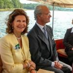 Carl XVI Gustaf och Drottning Silvia
