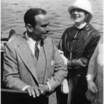 Mary Pickford & Douglas Fairbanks ombord på Loris 1924